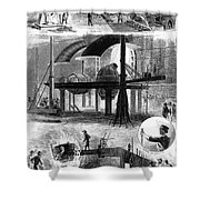 Bessemer Steel, 1876 Shower Curtain by Granger