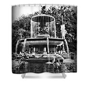 Bethesda Fountain Shower Curtain by Paul Ward
