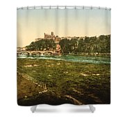 Beziers - France Shower Curtain by International  Images