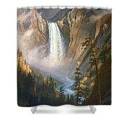 BIERSTADT: YELLOWSTONE Shower Curtain by Granger