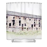 Big Ass Barn Shower Curtain by Bill Cannon