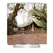 Big Bend Farmhouse Shower Curtain by Marilyn Holkham