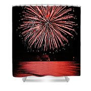 Big Red Shower Curtain by Bill Pevlor