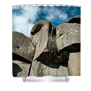 Big Rock Ear Shower Curtain by Paul W Faust -  Impressions of Light