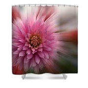 Blast Off Shower Curtain by Jean Noren