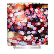 Bokeh Shower Curtain by Setsiri Silapasuwanchai