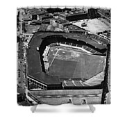 Boston: Fenway Park Shower Curtain by Granger