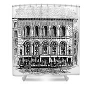 Boston: Tremont Temple Shower Curtain by Granger