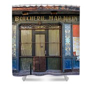 Boucherie Marjolin Shower Curtain by Andrew Fare