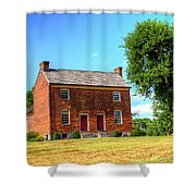 Bowen Plantation House 002 Shower Curtain by Barry Jones