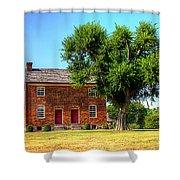 Bowen Plantation House Shower Curtain by Barry Jones