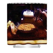 Breakfast of Champions Shower Curtain by RC DeWinter