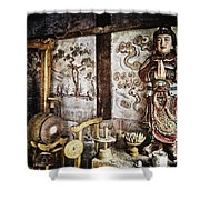 Breath Shower Curtain by Skip Nall