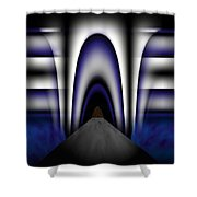 Bridge Over Troubled Waters Shower Curtain by Christopher Gaston