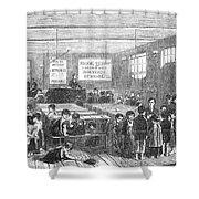 British Ragged School Shower Curtain by Granger