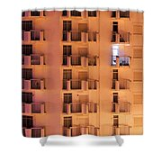 Building Facade Shower Curtain by Carlos Caetano