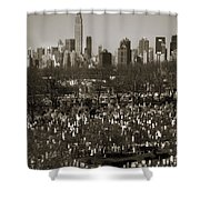 Buildings Shower Curtain by RicardMN Photography