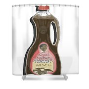 Butter Lite Shower Curtain by George Pedro