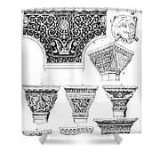 Byzantine Ornament Shower Curtain by Granger