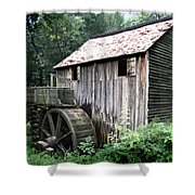 Cade's Grist Mill Shower Curtain by Barry Jones