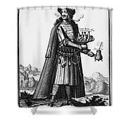 CAFE OWNER, c1690 Shower Curtain by Granger