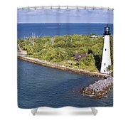 Cape Florida Shower Curtain by Patrick M Lynch
