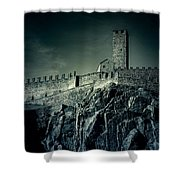 Castelgrande Bellinzona Shower Curtain by Joana Kruse