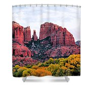 Cathedral Rock Shower Curtain by Kristin Elmquist