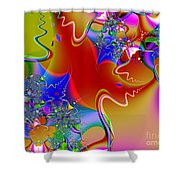 Celebration . S16 Shower Curtain by Wingsdomain Art and Photography