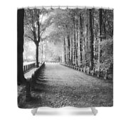 Cemetery At Ypres  Shower Curtain by Simon Marsden