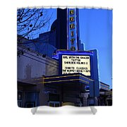 Cerrito Theater In El Cerrito California . 7d11035 Shower Curtain by Wingsdomain Art and Photography