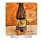 Chard Time Shower Curtain by Cheryl Young