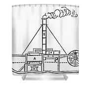Charlotte Dundas, 1801 Shower Curtain by Granger