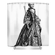Charlotte Sophia (1744-1818) Shower Curtain by Granger