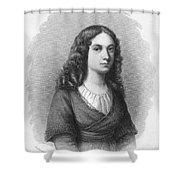Charlotte Von Schiller Shower Curtain by Granger