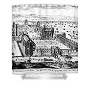 Chateau De Vincennes Shower Curtain by Granger