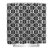 Chess Board Shower Curtain by Sumit Mehndiratta