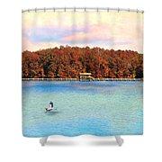 Chickasaw Bridge Shower Curtain by Jai Johnson