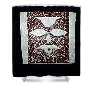 Christ - Cristu Shower Curtain by Gloria Ssali