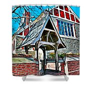 Christ Church Of St Michaels Shower Curtain by Stephen Younts