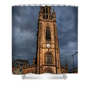 Church Of Our Lady - Liverpool Shower Curtain by Yhun Suarez