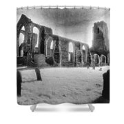 Church Of St Andrew Shower Curtain by Simon Marsden