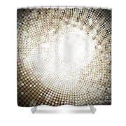 Circle Shower Curtain by Setsiri Silapasuwanchai