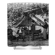 Civil War: Union Camp Shower Curtain by Granger