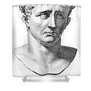 Claudius I (10 B.c.-54 A.d.) Shower Curtain by Granger