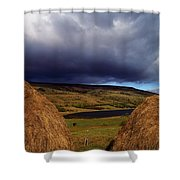 Co Cavan, Lake In West Cavan Mnts Shower Curtain by The Irish Image Collection