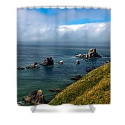 Coastal Look Shower Curtain by Robert Bales