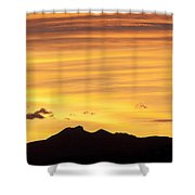 Colorado Sunrise Landscape Shower Curtain by Beth Riser