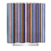Comfortable Stripes Ll Shower Curtain by Michelle Calkins