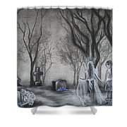 Communion Shower Curtain by Carla Carson